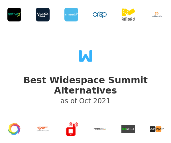 Best Widespace Summit Alternatives