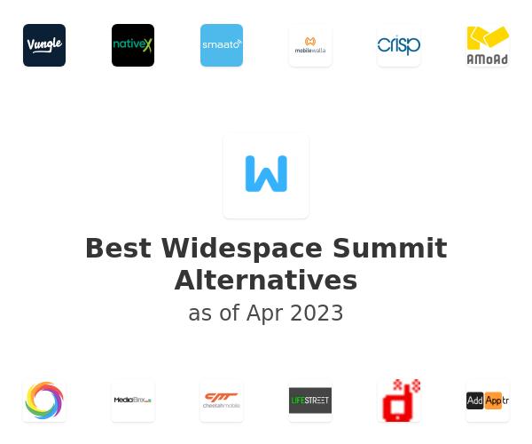 Best Widespace Summit Alternatives