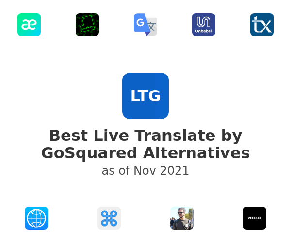 Best Live Translate by GoSquared Alternatives