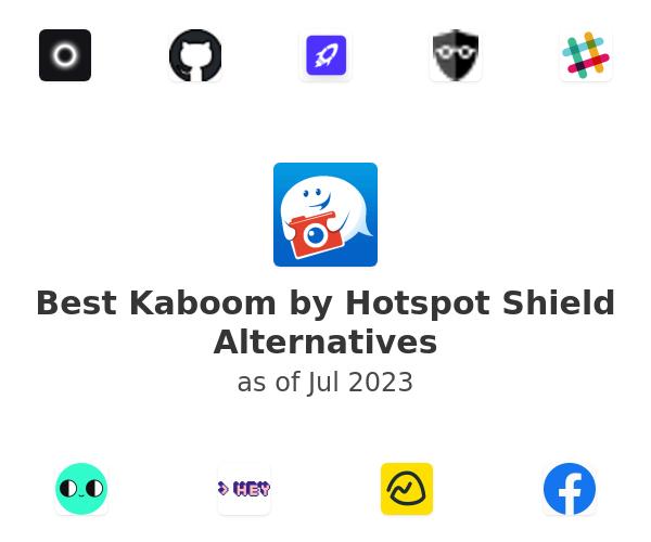 Best Kaboom by Hotspot Shield Alternatives