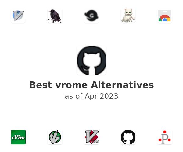 Best vrome Alternatives