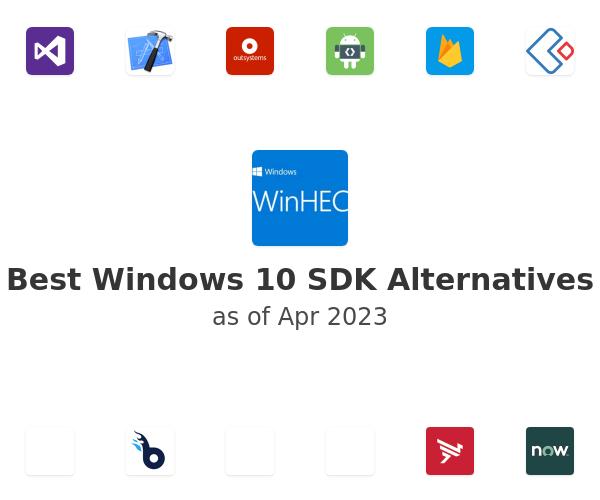 Best Windows 10 SDK Alternatives