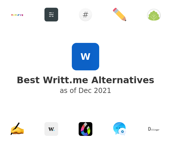 Best Writt Alternatives