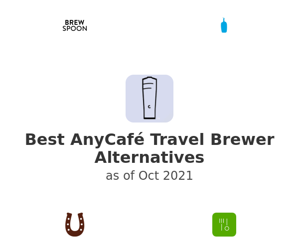 Best AnyCafé Travel Brewer Alternatives