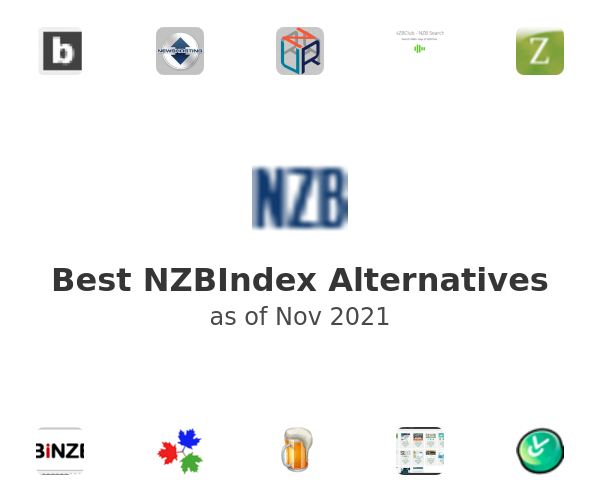 Best NZBIndex Alternatives