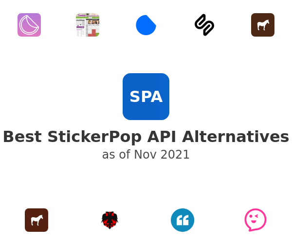 Best StickerPop API Alternatives