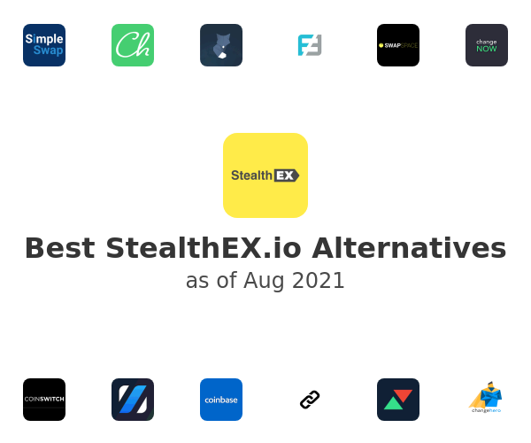 Best StealthEX.io Alternatives