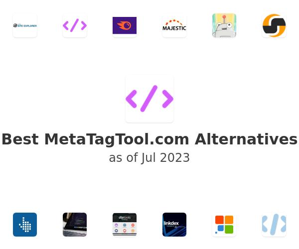 Best MetaTagTool.com Alternatives