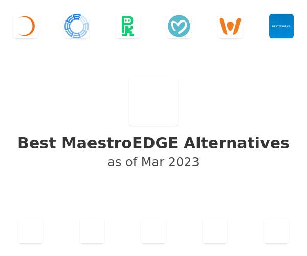Best MaestroEDGE Alternatives