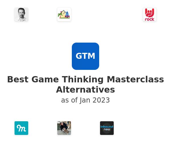 Best Game Thinking Masterclass Alternatives