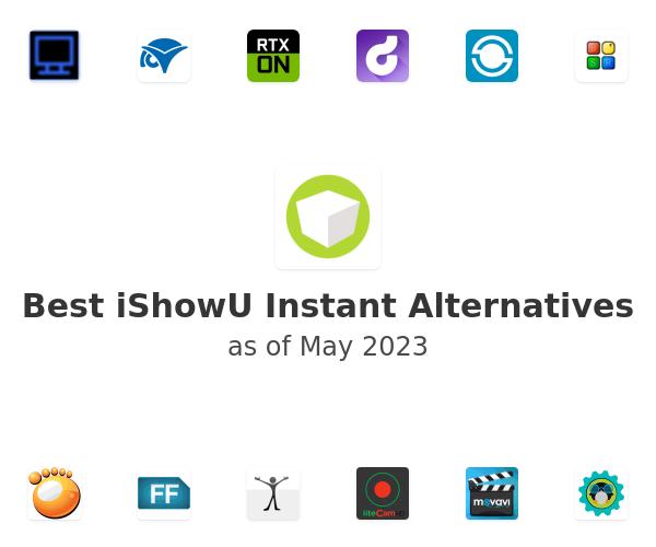 Best iShowU Instant Alternatives
