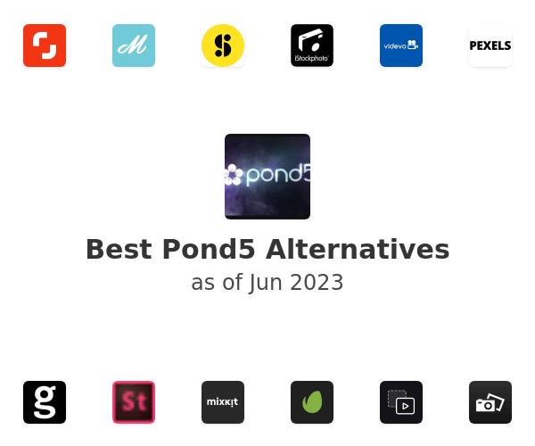 Best Pond5 Alternatives