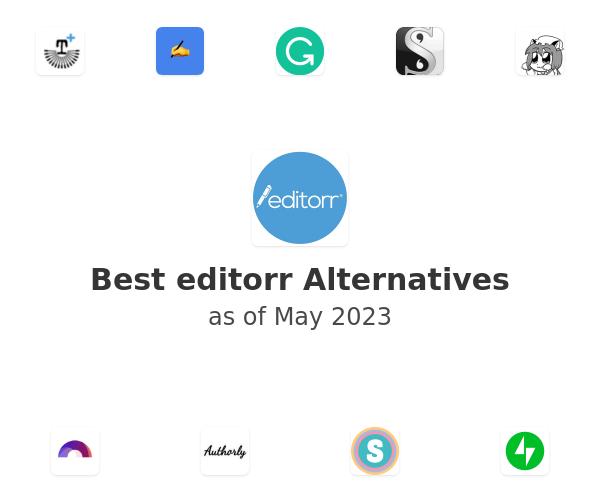 Best editorr Alternatives