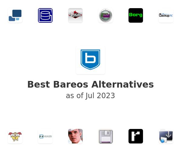 Best Bareos Alternatives