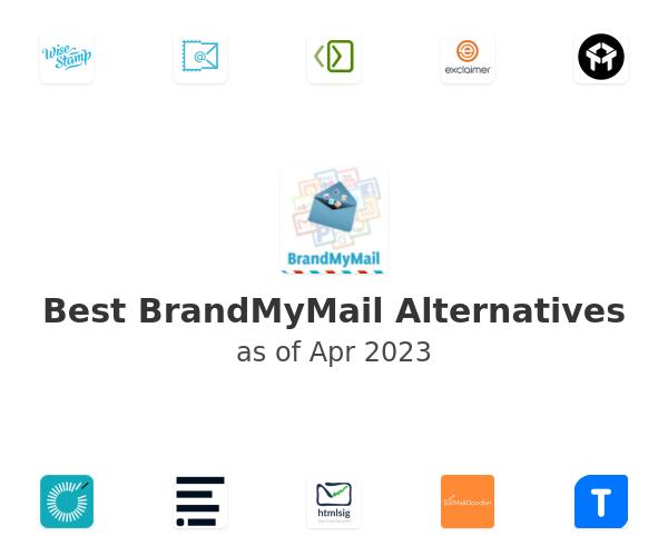 Best BrandMyMail Alternatives