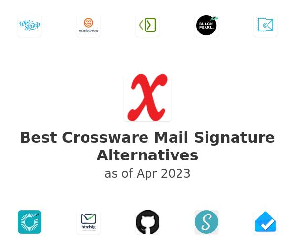 Best Crossware Mail Signature Alternatives