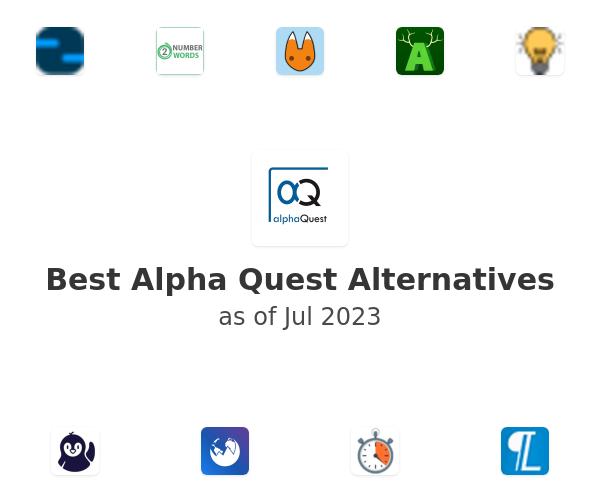 Best Alpha Quest Alternatives