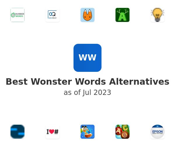 Best Wonster Words Alternatives