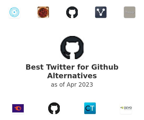 Best Twitter for Github Alternatives
