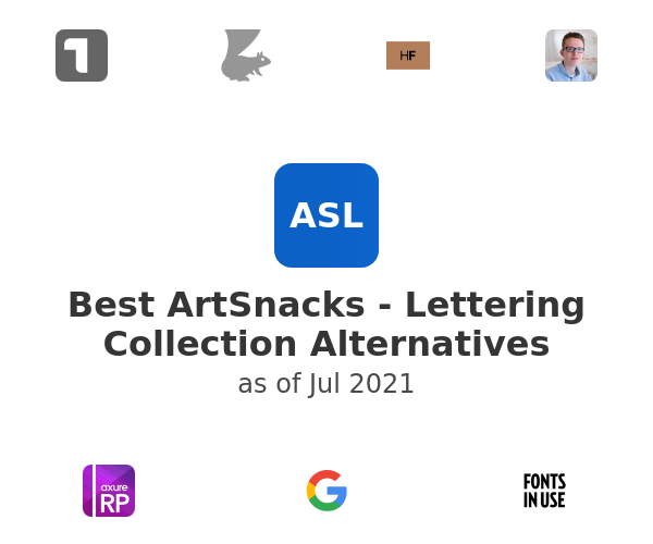 Best ArtSnacks - Lettering Collection Alternatives