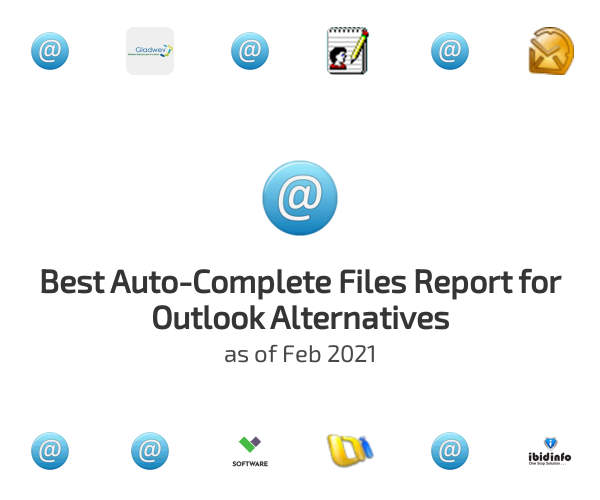 Best Auto-Complete Files Report for Outlook Alternatives