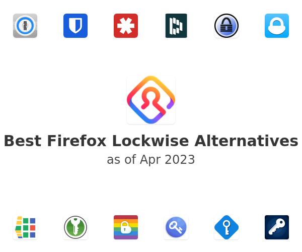 Best Firefox Lockwise Alternatives