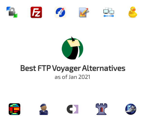 Best FTP Voyager Alternatives