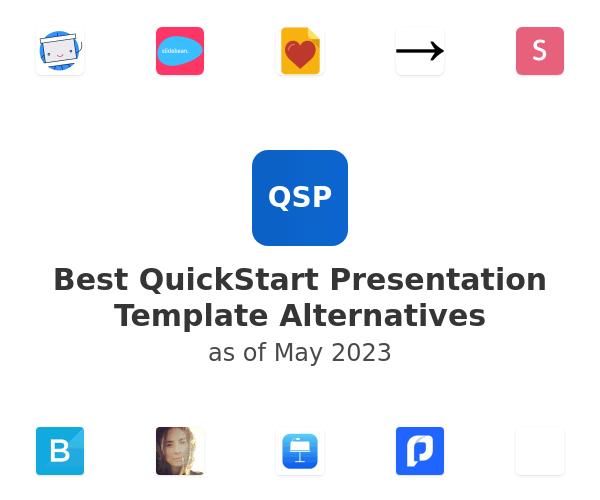 Best QuickStart Presentation Template Alternatives