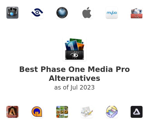 Best Phase One Media Pro Alternatives