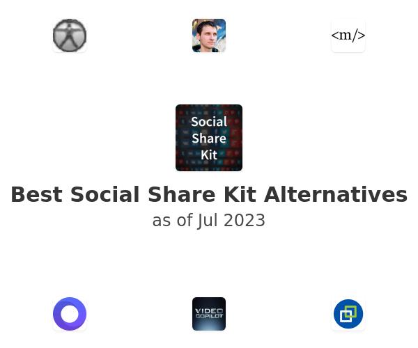 Best Social Share Kit Alternatives