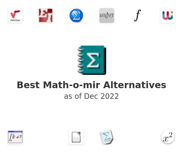 Best Math-o-mir Alternatives