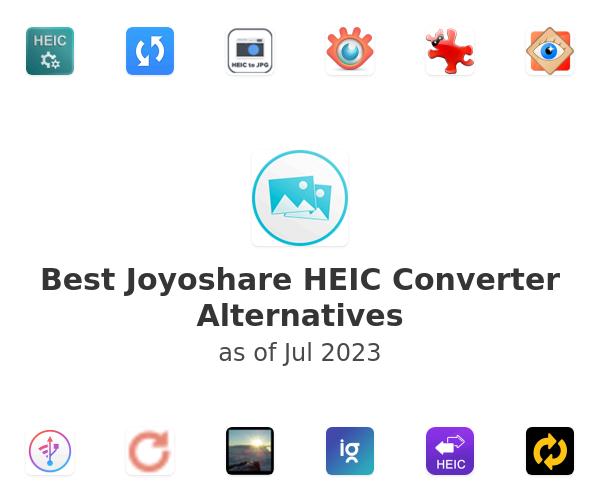 Best Joyoshare HEIC Converter Alternatives