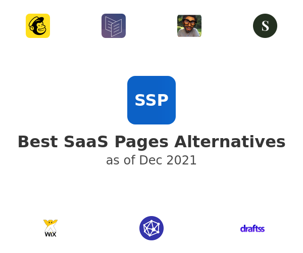 Best SaaS Pages Alternatives