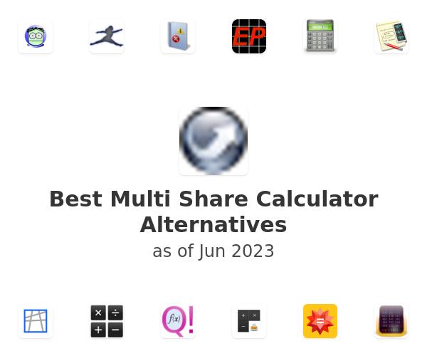 Best Multi Share Calculator Alternatives