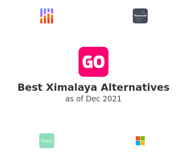 Best Ximalaya Alternatives