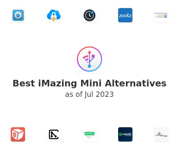 Best iMazing Mini Alternatives