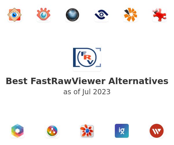 Best FastRawViewer Alternatives