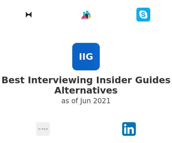 Best Interviewing Insider Guides Alternatives
