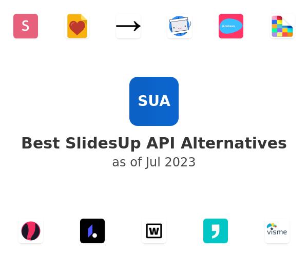 Best SlidesUp API Alternatives