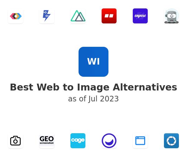 Best Web to Image Alternatives