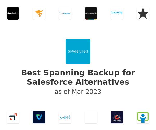 Best Spanning Backup for Salesforce Alternatives