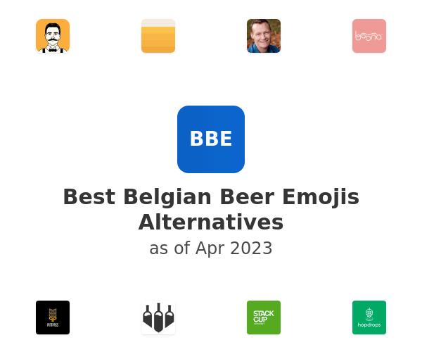 Best Belgian Beer Emojis Alternatives