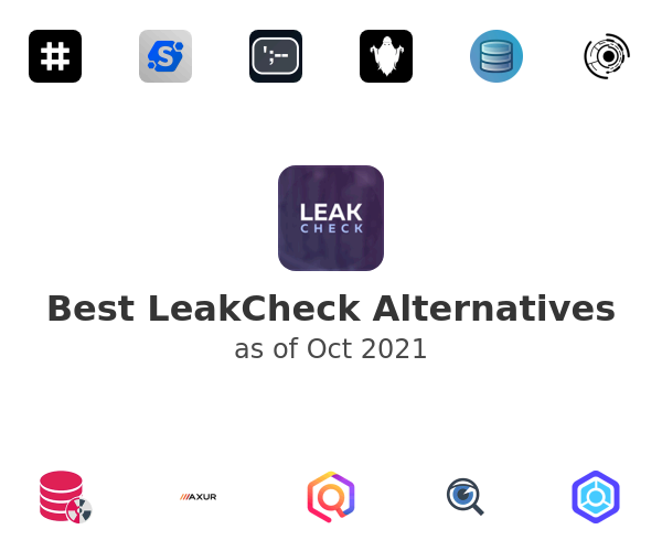 Best LeakCheck Alternatives