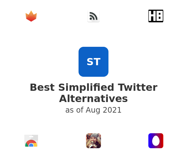 Best Simplified Twitter Alternatives