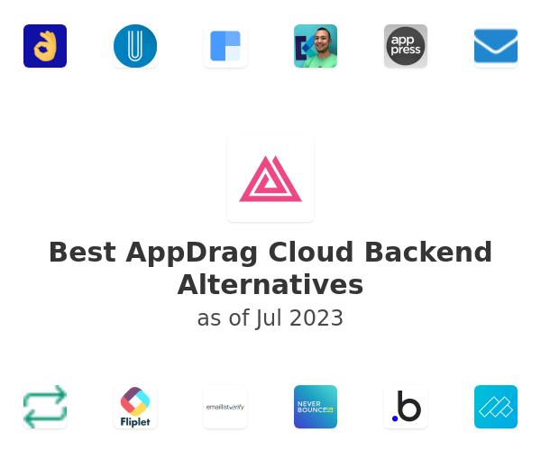 Best AppDrag Cloud Backend Alternatives