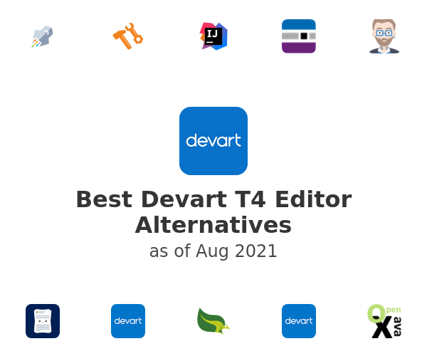 Best Devart T4 Editor Alternatives