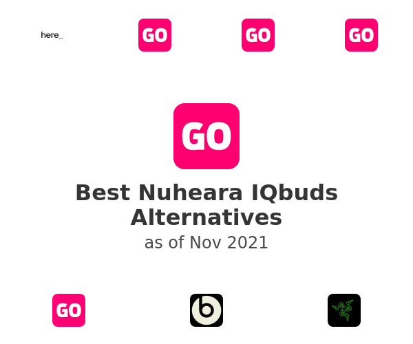 Best Nuheara IQbuds Alternatives