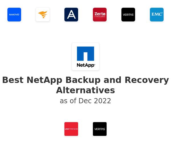 Best NetApp Backup and Recovery Alternatives