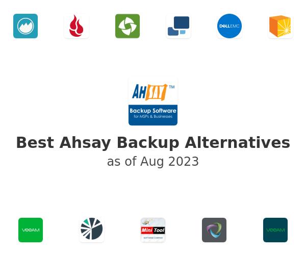 Best Ahsay Backup Alternatives