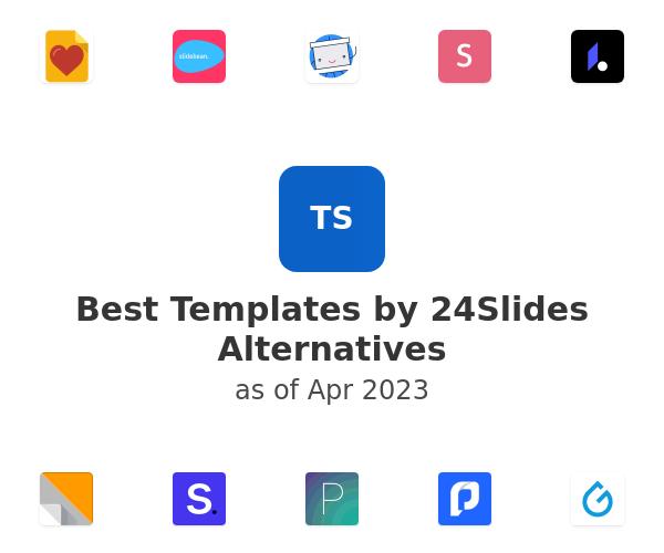 Best Templates by 24Slides Alternatives